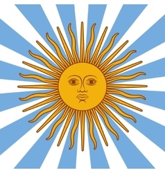 Argentina card - poster vector