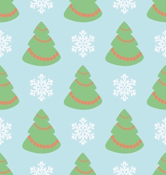 Christmas seamless pattern with Christmas t vector