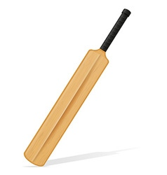 Cricket bat 05 vector