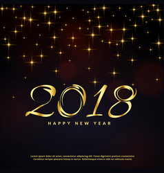 festival glitter background for happy new year vector image