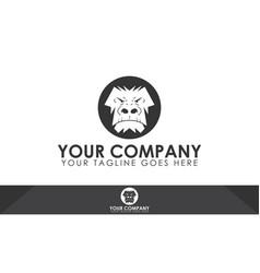 Gorilla logo vector