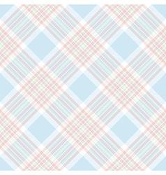Pastel color check diagonal seamless pattern vector