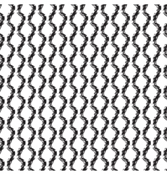 Seamless pattern of checkered brush strokes vector