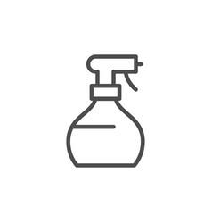 spray line icon vector image