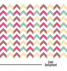 arrow icon Cover background graphic vector image vector image