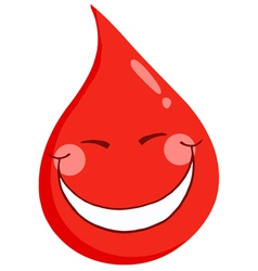 Blood Guy Smiling vector image