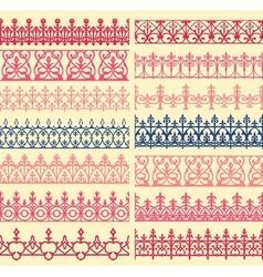 border set vector image