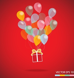 Gift box carnival vector