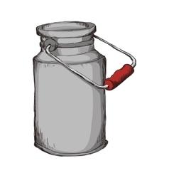 jar sketch mason decoration icon graphic vector image
