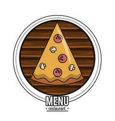 Restaurant menu concept vector