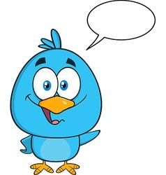Talking Bird Cartoon vector image