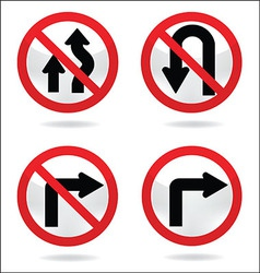 Traffic sign 4 vector
