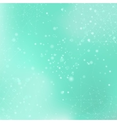 Azure Technology Background with Particle vector image vector image