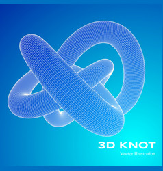 3d v vector image