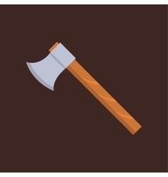 Axe weapon vector image