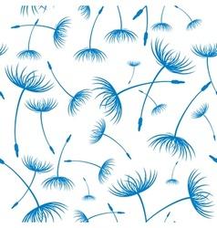 Elegant seamless dandelion pattern vector image vector image