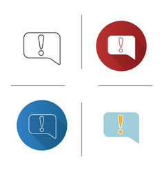 announcement icon vector image