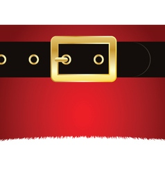 christmas buckle vector image
