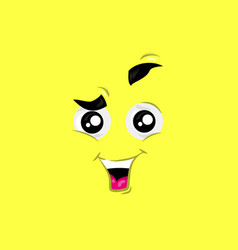 Excited face vector