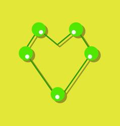 Flat icon design collection atom scheme in vector