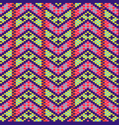 geometric bold arrow chevron seamless pattern vector image
