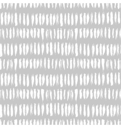 Hand drawn striped seamless pattern vector image