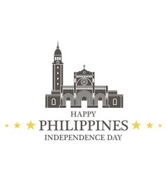 Independence Day Philippines vector image