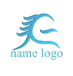 logo for web design vector image vector image