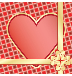 present for Day of Valentine vector image