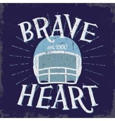 Sport Typography Football Logo vector image