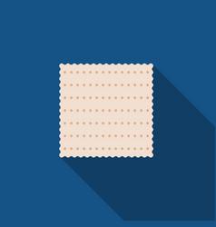 matzah passover cracker vector image