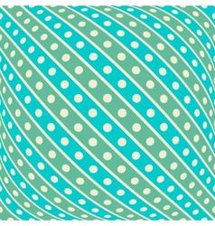 Vintage diagonal stripe seamless pattern tiling vector image
