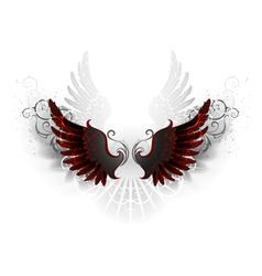 Black Wings vector image vector image