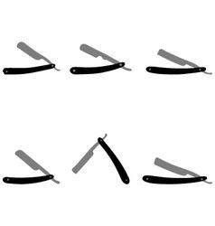 razors vector image