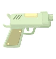 Gun icon cartoon style vector