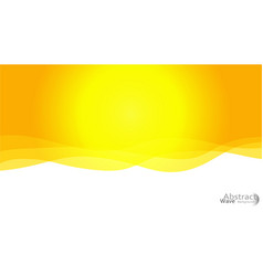 light yellow moon pattern with lava shapes vector image