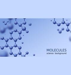 Molecules abstract micro molecule structure vector