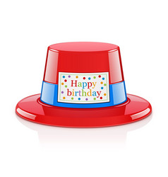 Party hat for birthday vector