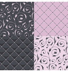 pattern modern set vector image