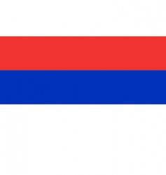 republican Srpska flag vector image