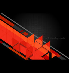 Triangle shape motion graphics vector