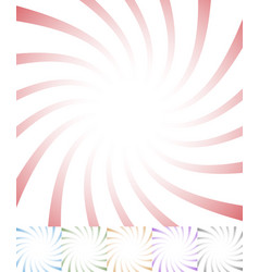 Twisting starburst sunbrust abstract pattern vector