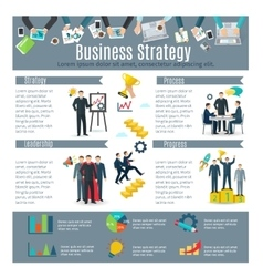 Business Strategy Infographic Set vector image vector image