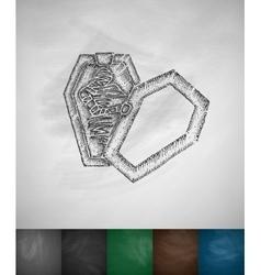 mummy icon vector image vector image