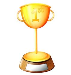 A trophy vector image
