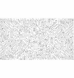Circuit board texture for banner or poster vector