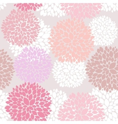 Cute unique floral pattern vector image