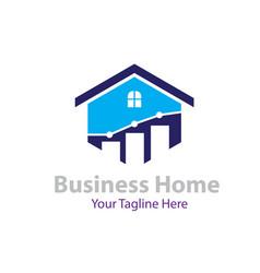home management logo designs vector image