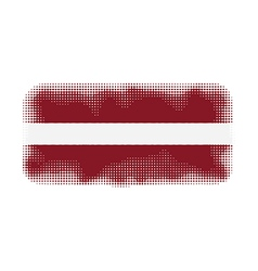 Latvia flag halftone vector