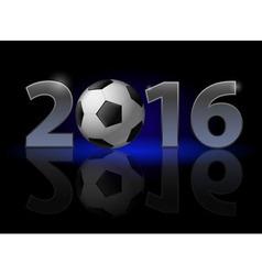New year twenty-sixteen vector